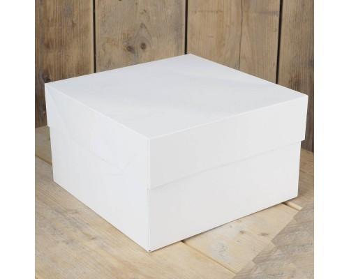 CAIXA BRANCA ALTA 25X25X15 cm