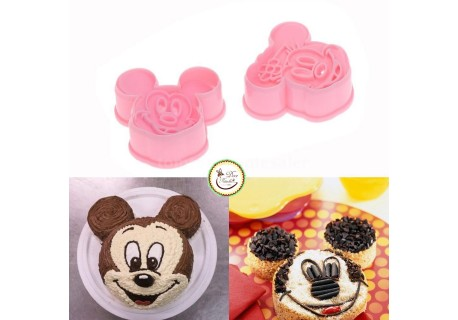 CORTANTE MICKEY E MINNIE
