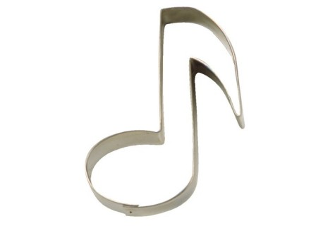 CORTANTE METAL NOTA MUSICAL