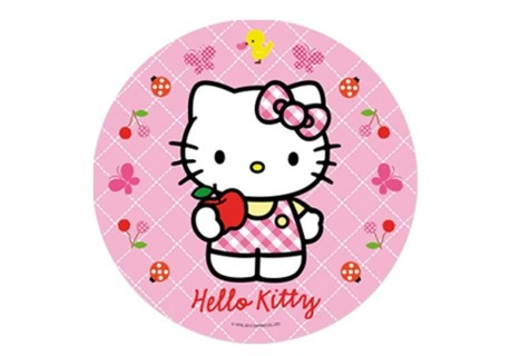PLACA HOSTEA HELLO KITTY