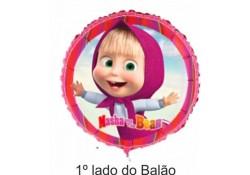 """BALÃO FOIL MASHA & URSO 18"""""""